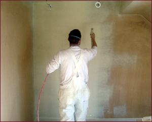 PJM Decorators painting White Wall