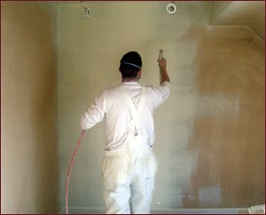 PJM Decorators Spaying Wall